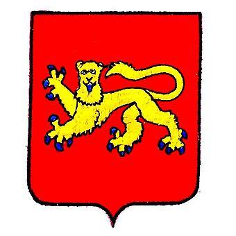 Patch Ecusson Brode Aquitaine Blason Arms Flag Region Heraldic