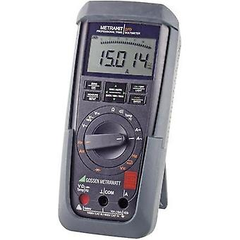 Handheld multimeter digital Gossen Metrawatt METRAHIT PRO Calibrated to: DAkkS standards CAT III 1000 V, CAT IV 600 V D