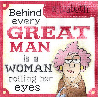 Aunty Acid Great Man Counted Cross Stitch Kit-8