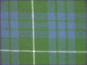 Hamilton Green, Ancient - Pure Wool Tartan