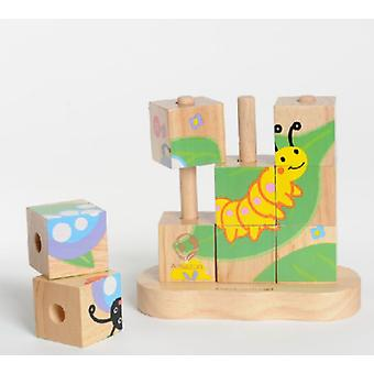 EverEarth Puzzle Worm A Butterfly (Jouets , Maternelle , Puzzles Et Cubes)