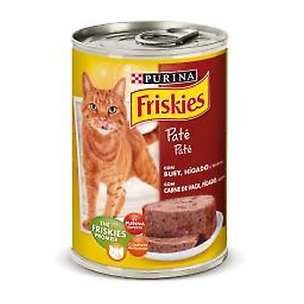 Friskies Adult With Beef and liver pate (Cats , Cat Food , Wet Food)