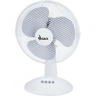 Daichi Desktop fan dai-411 35w hvid (Home, Air-conditioning og varme, Fans)
