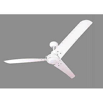 Industrial ceiling fan Vourdries White 142 cm / 56