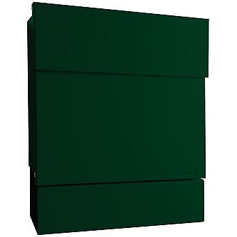 RADIUS letterbox Letterman 5 dark green with newspaper role 561o