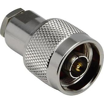 N connector Plug, straight 50 Ω BKL Electronic 0404008/D 1 pc(s)