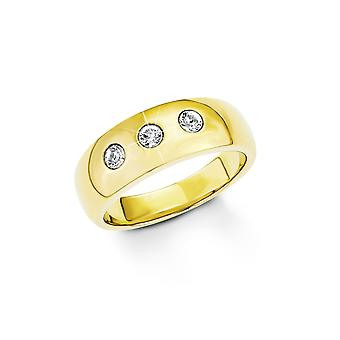 s.Oliver Jewel Ladies Ring stainless steel IP gold SO1274