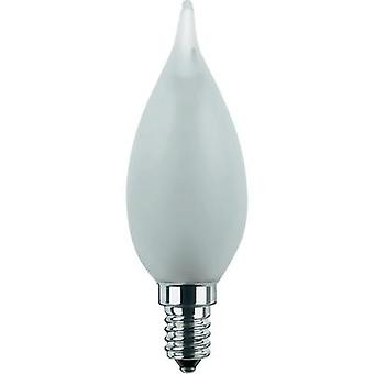 LED (monochrome) Segula 230 V E14 2.2 W = 15 W Warm white EEC: A+ Candle angular (Ø x L) 35 mm x 110 mm dimmable, Filame