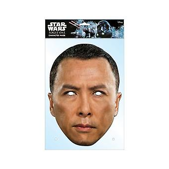 Chirrut Imwe Rogue One: A Star Wars Story Single 2D Card Party Face Mask