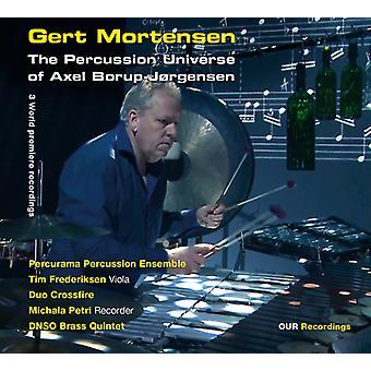 Borup-Jorgensen/Mortensen/Petri/Frederiksen - Percussion Universe of Axel Borup-Jorgensen [SACD] USA import