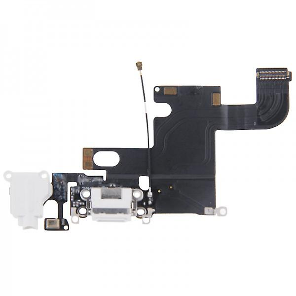 Apple iPhone 6 dock connector antenna audio jack Flex cable white
