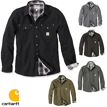 Carhartt jacket of weathered canvas