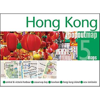 Hong Kong Popout Map - handy pocket size pop up map of Hong Kong (Popout Maps) (Map)