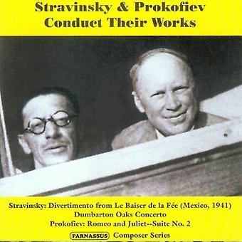 I. Stravinsky - Stravinsky & Prokofiev foretage deres værker [CD] USA import