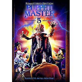 Marionet Master 5 re-Mastered [DVD] USA importerer