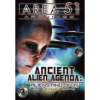 Ancient Alien Agenda: Aliens & Ufos [DVD] USA import