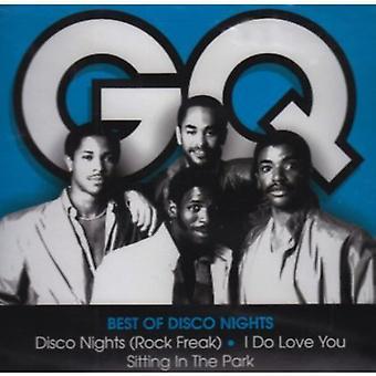 GQ - bedste af Disco nætter [CD] USA import