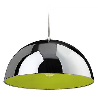 Firstlight Art Deco Modern Ploished Chrome Ceiling Hanging Light Pendant