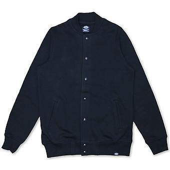 Dickies Crandon Button up Sweatshirt Black