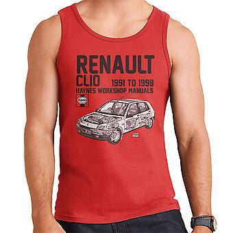 Хейнс Владельцы Семинар Руководство Renault Clio Черный Мужчины'apos;s Вест