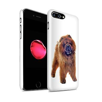 STUFF4 Glanz zurück Snap-On Handy Hardcase für Apple iPhone 7 Plus / Chow Chow Design / Hunderassen Sammlung
