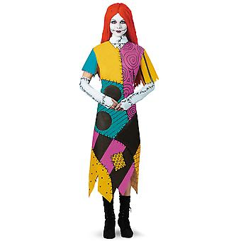 Sally Disney The Nightmare Before Christmas Ragdoll Womens Costume L
