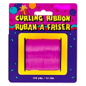Curling Ribbon För Ballonger Hot Pink Small Roll