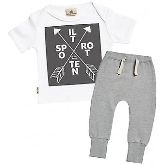 Spoilt Rotten Baby T-Shirt & Joggers Outfit Set