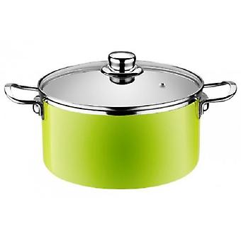 Monix Pan High  Lima  Enameled Steel Induction Apta