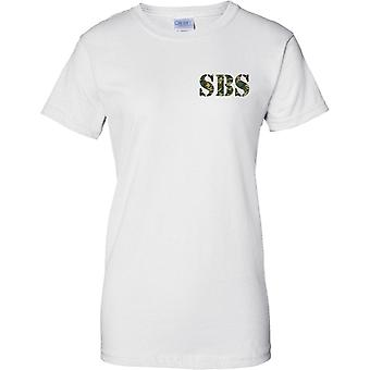 SBS - Special Boat Service - Royal Navy Special Forces - Ladies petto Design t-shirt