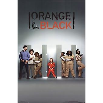 Orange is the New Black - One Sheet Poster Poster Print