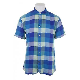 Paul Smith Jeans Mens S/s Checked Shirt