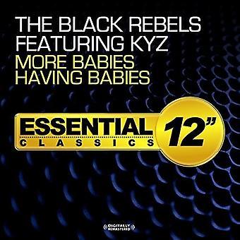 Svart rebellerna Featuring Jarl - fler bebisar med spädbarn [CD] USA import