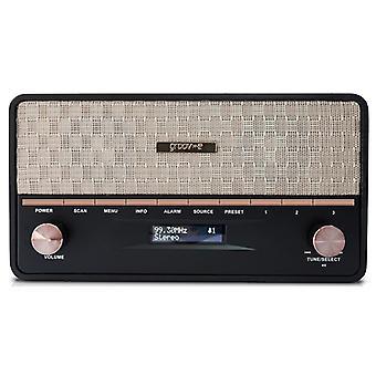 Groov-e Encore DAB Radio with Bluetooth Speaker (Model No. GVDR02BK)