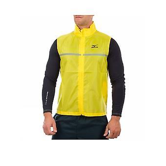 MIZUNO Hi-Viz running vest [yellow]