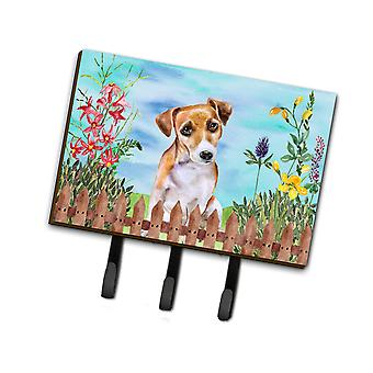 Jack Russell Terrier #2 Spring Leash or Key Holder