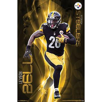 Pittsburgh Steelers - LeVeon Bell Poster Print