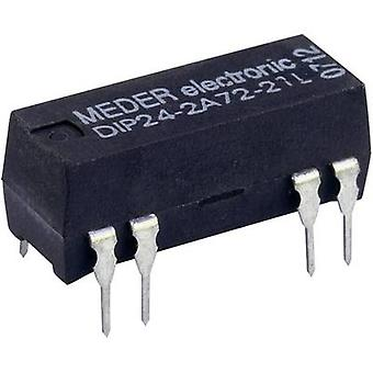 Reed relay 2 makers 5 Vdc 0.5 A 10 W DIP 8