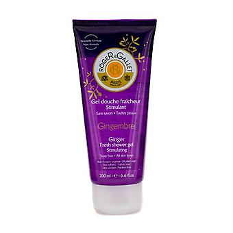 Roger & Gallet Gingembre (gengibre) chuveiro do Gel de 200ml/6,6 oz