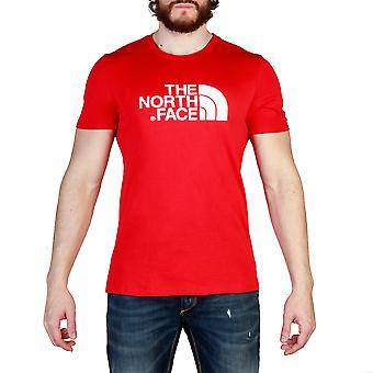 The North Face Men T-shirts Red