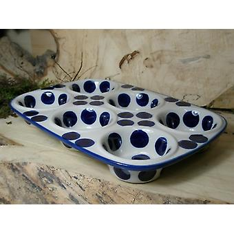 Baking pan, 29 x 20 x 4 cm, with 6 bowls, tradition 28 - BSN 21612