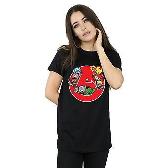 Kawaii المنتقمون آعجوبة المرأة جاهزة الحرب مطرد صديقها تناسب القميص