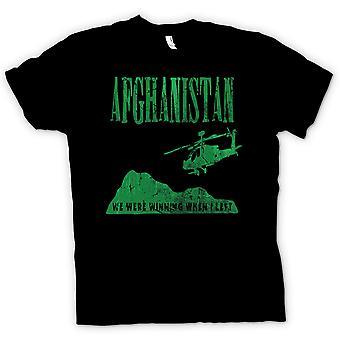 子供の t シャツ-アフガニスタン - 出たとき我々 は勝利しました。