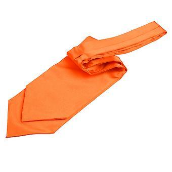 Burnt Orange Plain Satin binden Hochzeit Krawatte