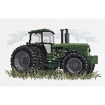 Tractor Counted Cross Stitch Kit-12
