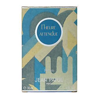 Jean Patou L'Heure Attendue Parfum Splash 1.0 Oz/30 ml i rutan (Vintage)