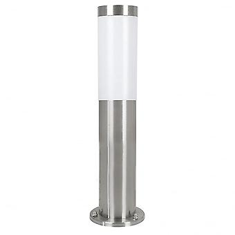 Eglo Helsinki Short Stainless Steel Pathway Post Light, IP44