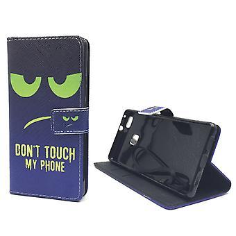 Tocar mi caso móvil teléfono Huawei P9 Flip Lite caso de cartera