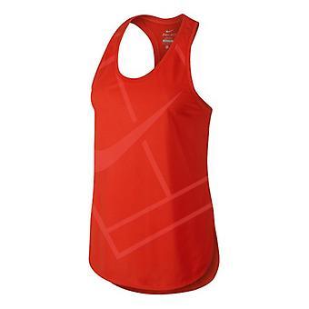 Nike baseline tank ladies red 728725-671