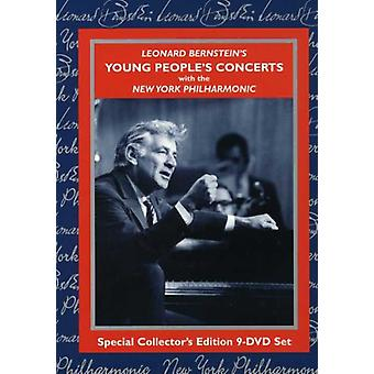 L. Bernstein - Young Peoples konserter [DVD] USA import